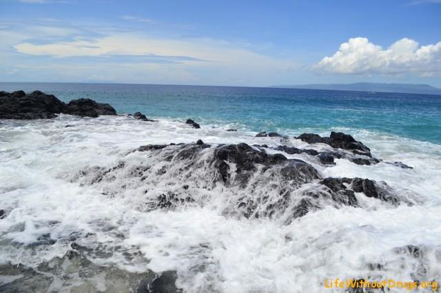 Пляж в Паданг Бае