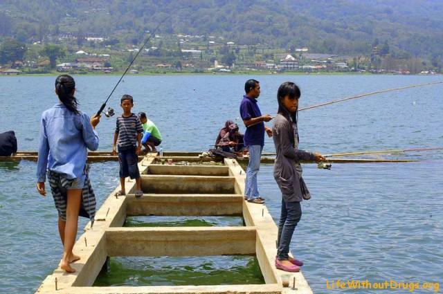 рыбаки на Буяне