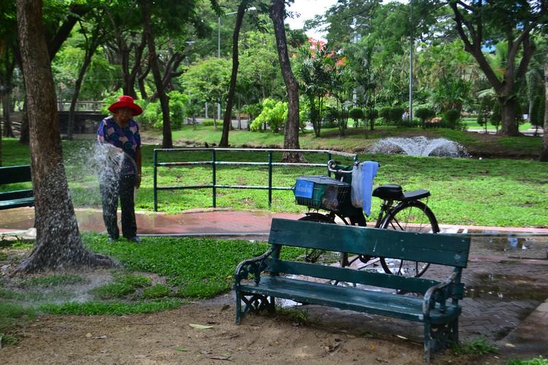 Бангкок для детей.Парк Люмпини