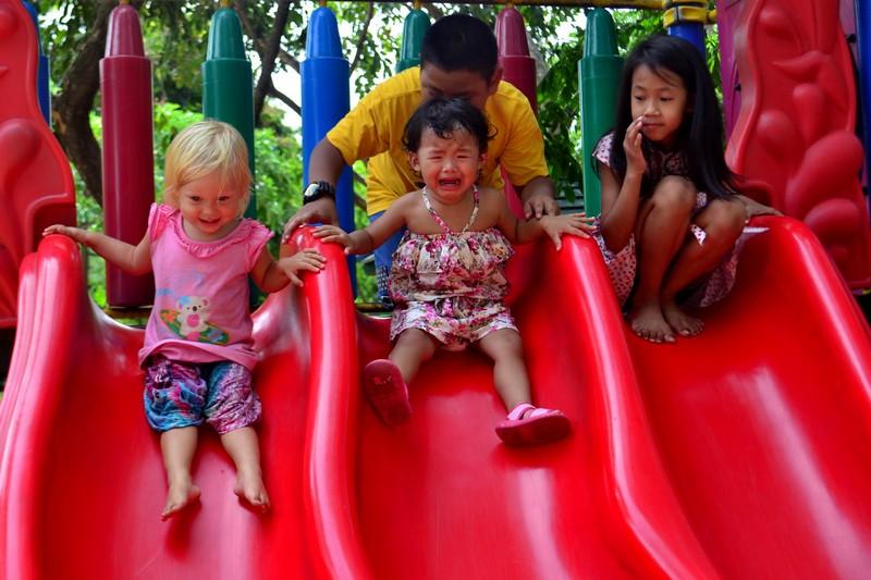 Детские площадки Бангкока