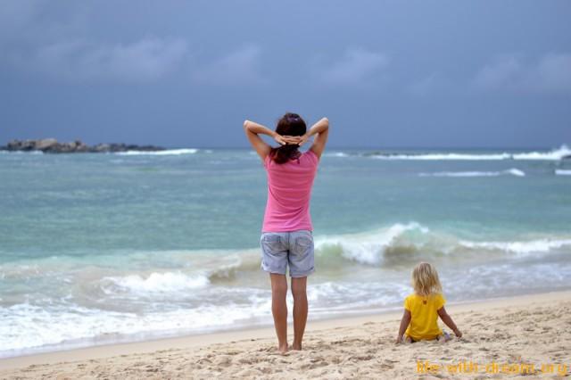 Пляж Унаватуна (Unawatuna beach)