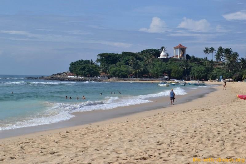 Унаватуна, Шри-Ланка. Фото пляжа и моря. Отзывы об отдыхе в 8