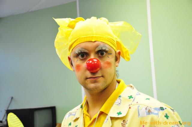 Костя клоун