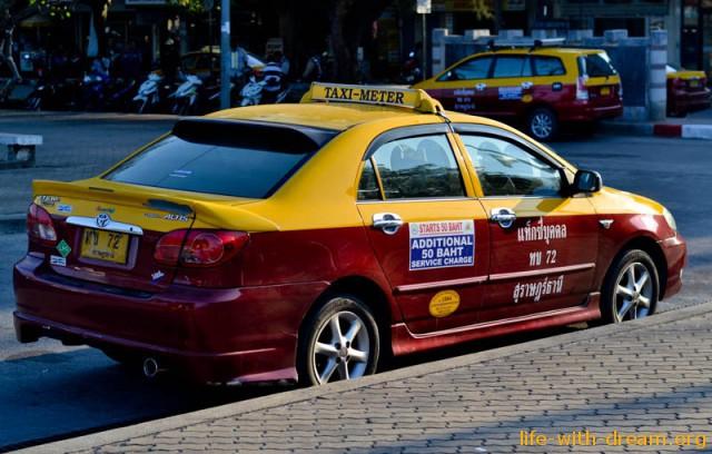 Такси на острове Самуи