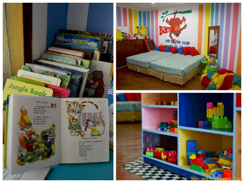Детский клуб в отеле Grand Mirage Resort Thallaso Bali