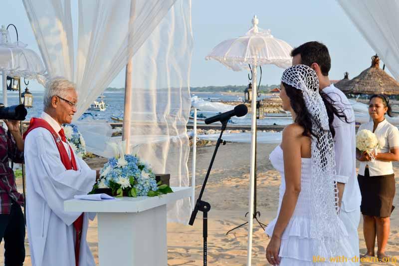 Свадебная церемония на Бали