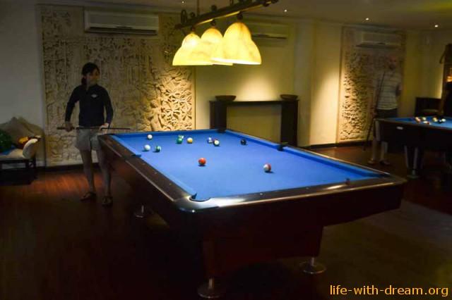 Игровой клуб для взрослых в отеле Grand Mirage Resort Thallaso Bali