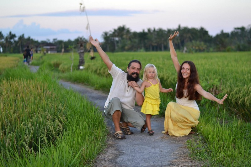 Рисовые поля Убуда