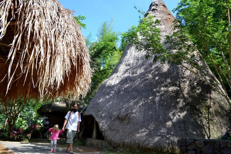 Taman Nusa парк на Бали