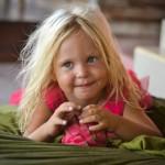Нашей любимой дочке исполнилось 3 годика! :)