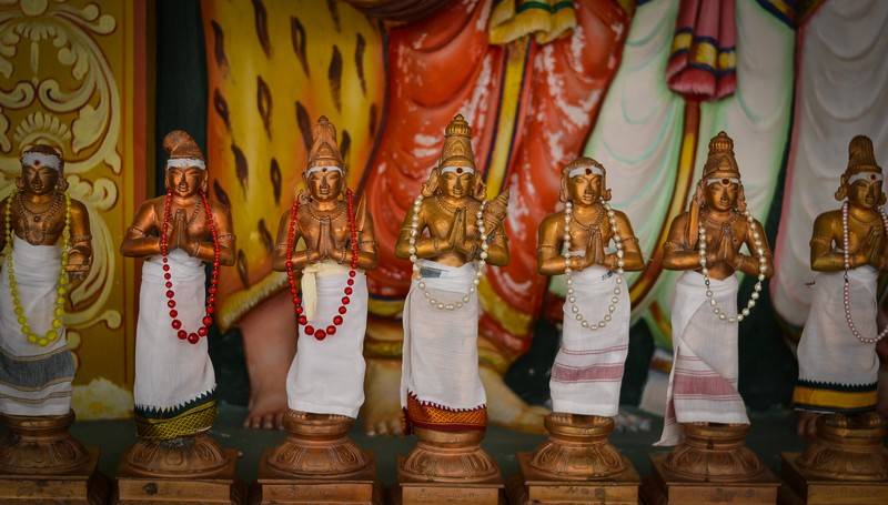 Куала-Лумпур. Индийский храм.