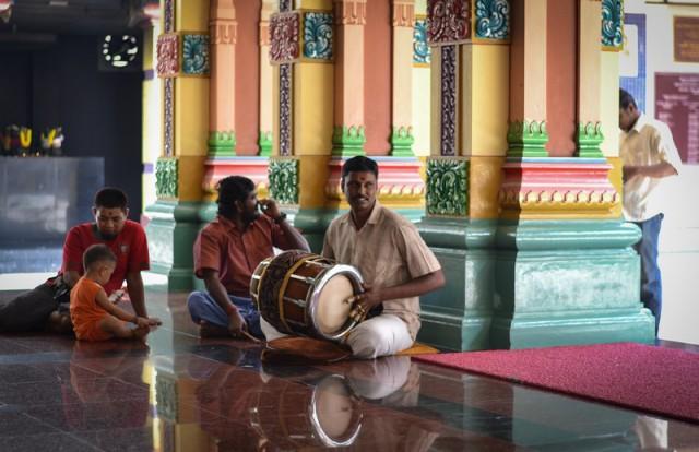 Куала Лумпур. Индийский храм.