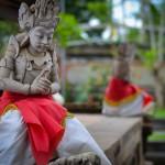 Волшебный храм Кеhen и древний баньян, живущий в нем.