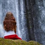Еще один водопад  на Бали. Мгновения нашей жизни.
