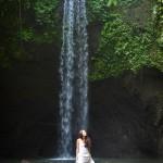 Чудесатый водопад на Бали и лучики Благо-дарения :)
