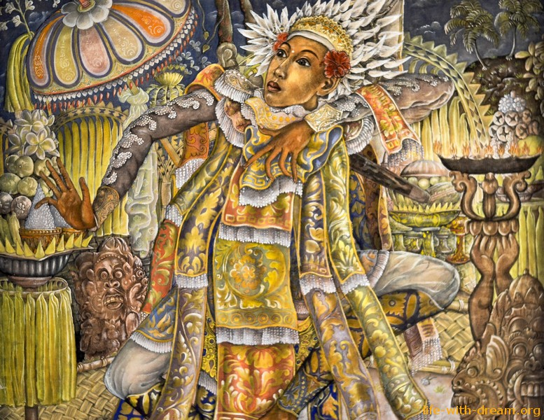 Живопись на Бали