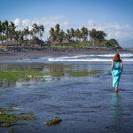 Пляжи с черным песком на острове Бали. Фото-прогулка.