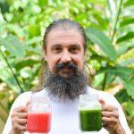 Про зеленые коктейли. Рецепты и лучики вдохновения :)