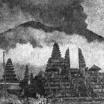 Извержение вулкана Агунг в 1963 году. Хронология событий, рассказы очевидцев.
