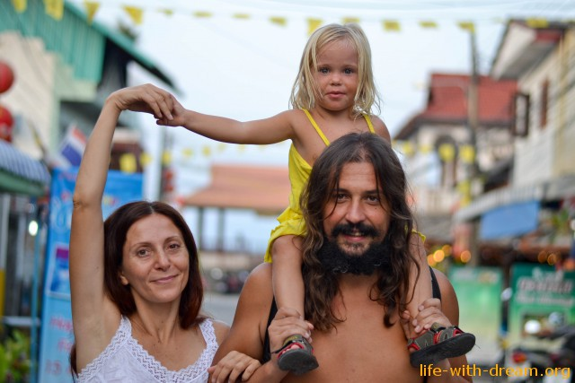 autors of Family Travel blog - Life with Dream