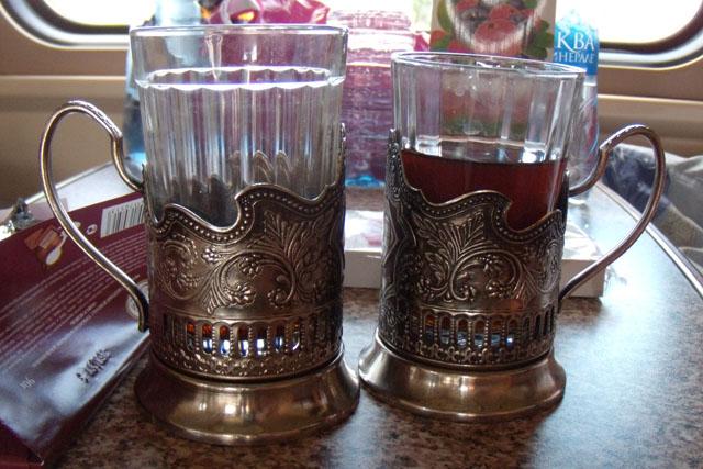чай в поезде дальнего следования из Москвы в Узбекистан
