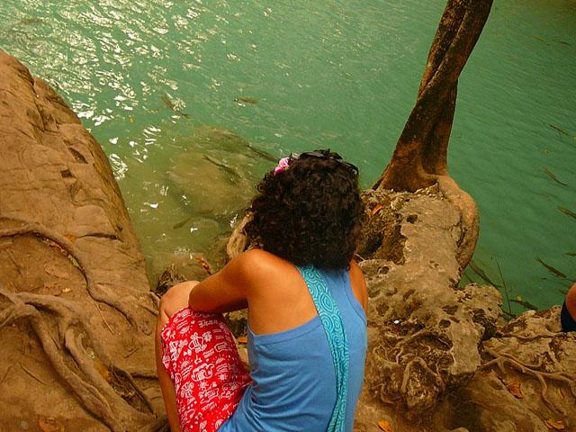 Канчанабури. Национальный парк Эраван.