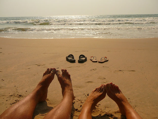 paradise beach, maharashta, india