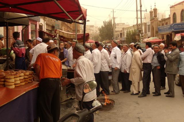 Кашгар, Уйгурия
