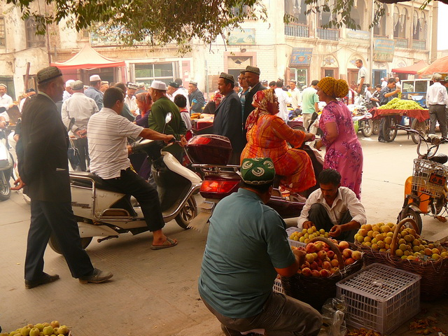 Уйгурия, Кашгар