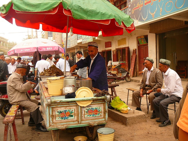 Уйгурия,Синдзян, Кашгар