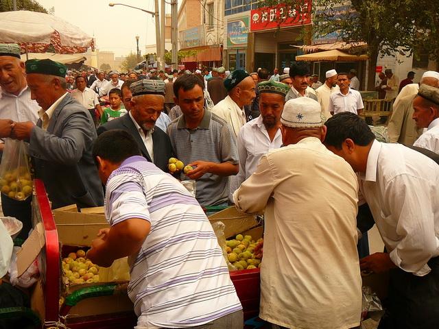 Город Кашгар, Уйгурия