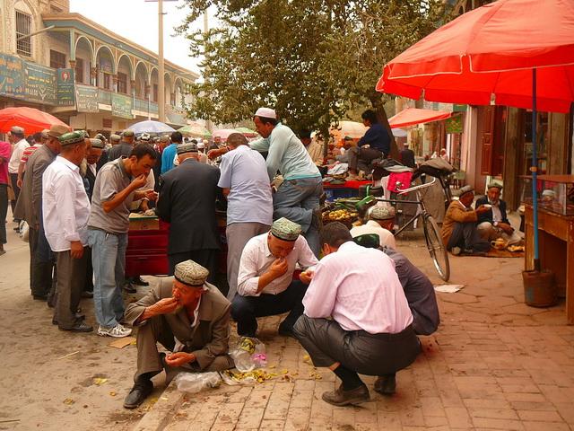 Уйгурия, Город Кашгар.