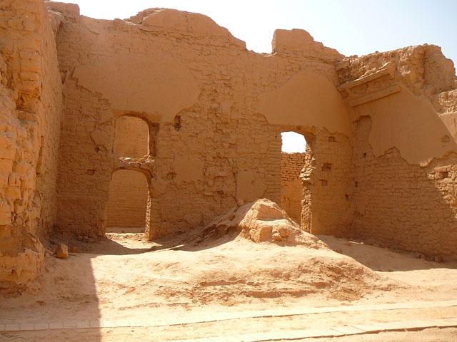 древний город Гаочан, Уйгурия, Китай