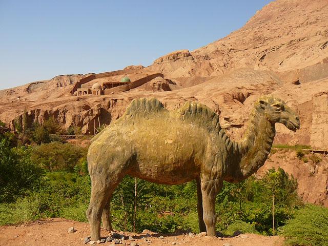 Древняя уйгурская деревня Туюк - часть шелкового пути