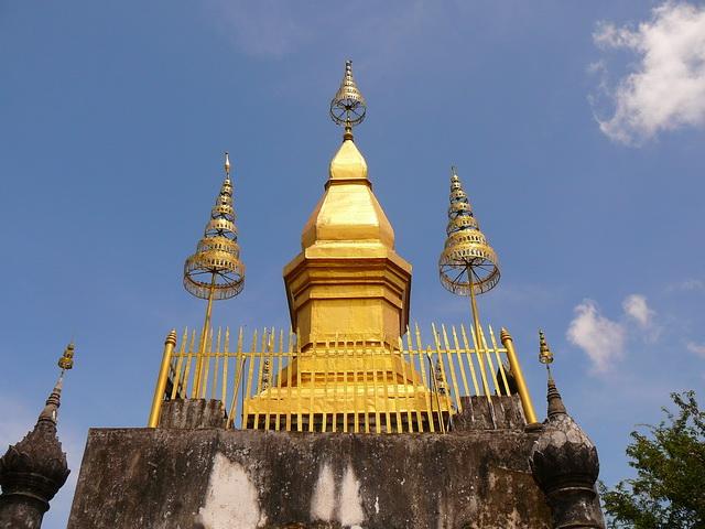 Гора Пуси в Лаосе