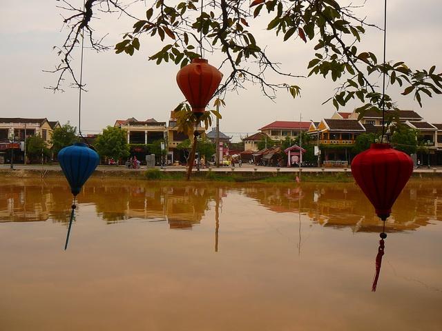 Хой Ан, река Тху Бон