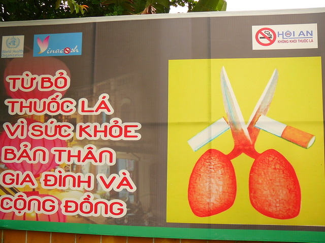 Не курить, Вьетнам