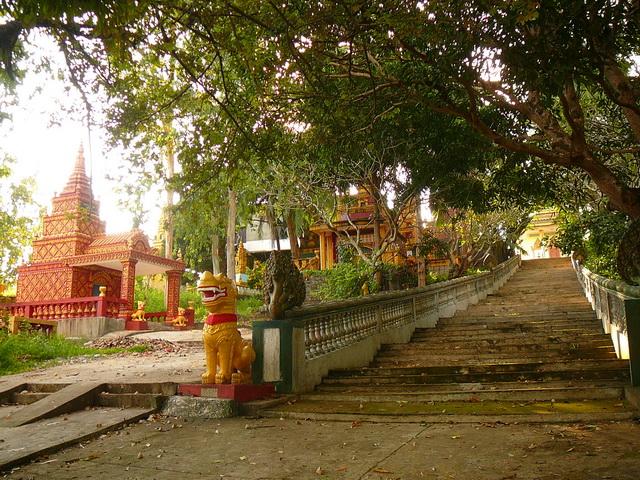 Верхняя пагода в Сиануквиле