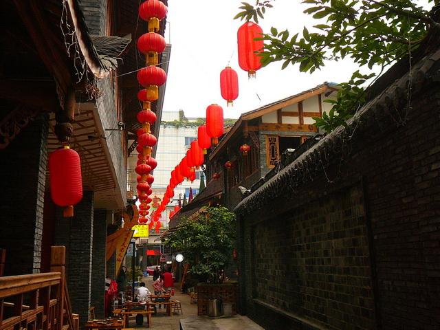 Ченду, Китай, Азия