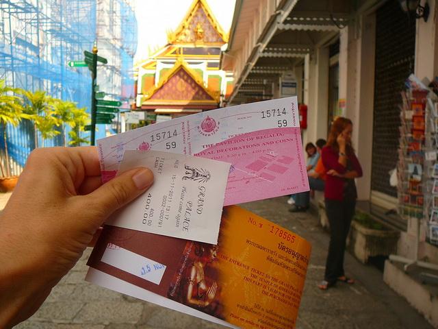 Пешком по Бангкоку - маршрут прогулки по Бангкоку за один день.