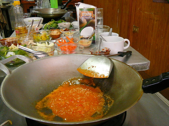 Готовим тайские блюда - арахисовый соус для лапши Пад Тай