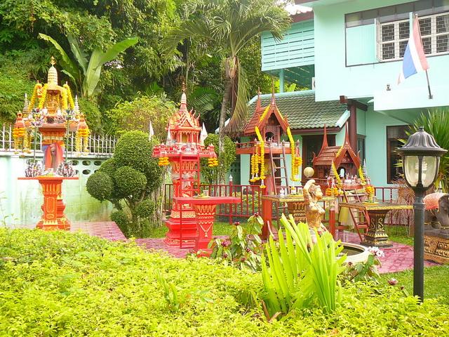 Обычаи Таиланда, Азия