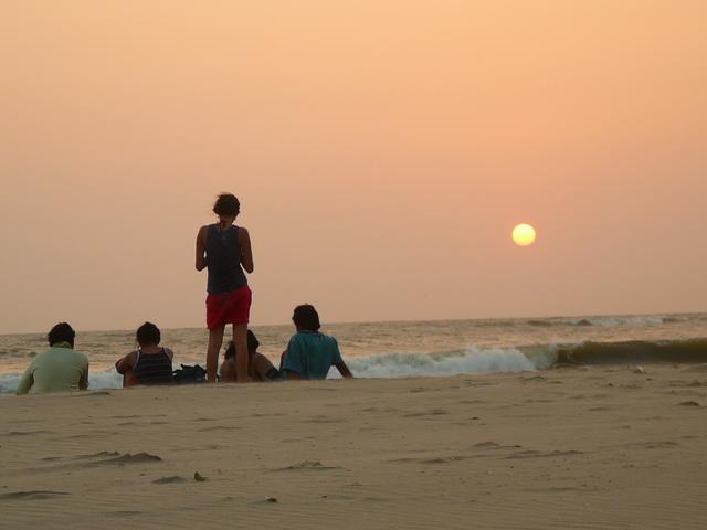 Гоа, Индия, закаты