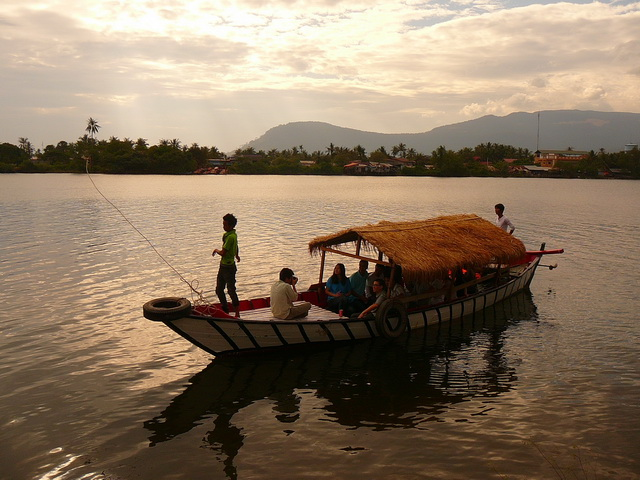 Камбоджа, река Кампонг