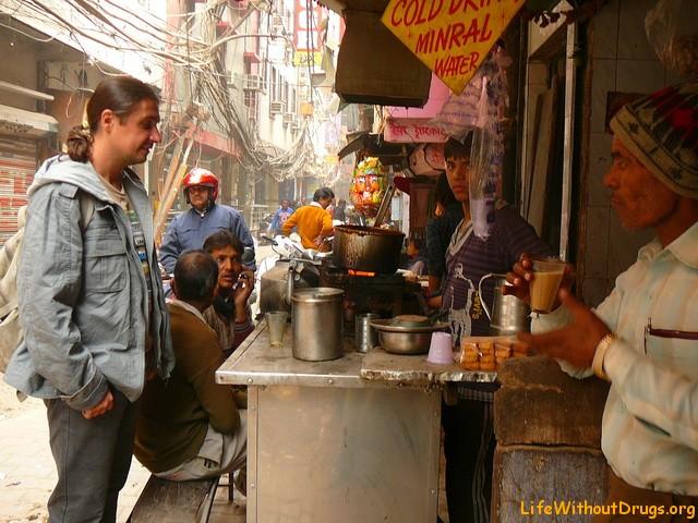Улицы Дели, Индия