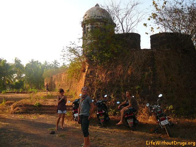 Форт Алорна, Гоа, Индия, Южная Азия