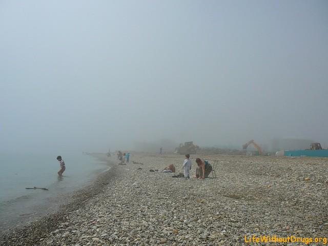 Пляжи Черноморского побережья