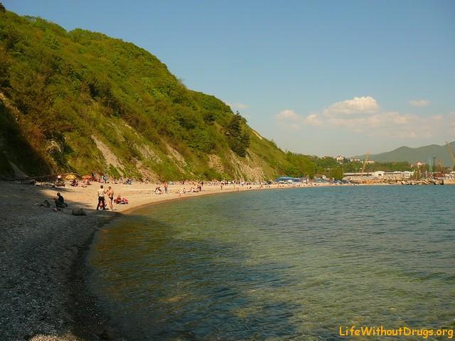Пляжи Туапсе и черноморского побережья