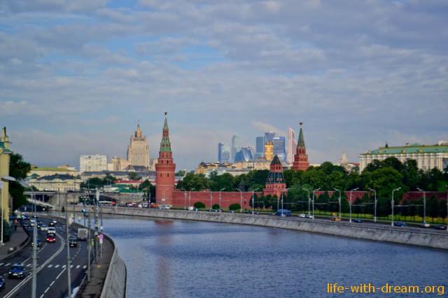 Прогулка по центру Москвы