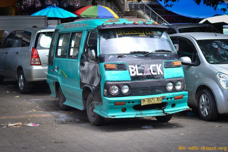 Дороги на Бали и дорожное движение